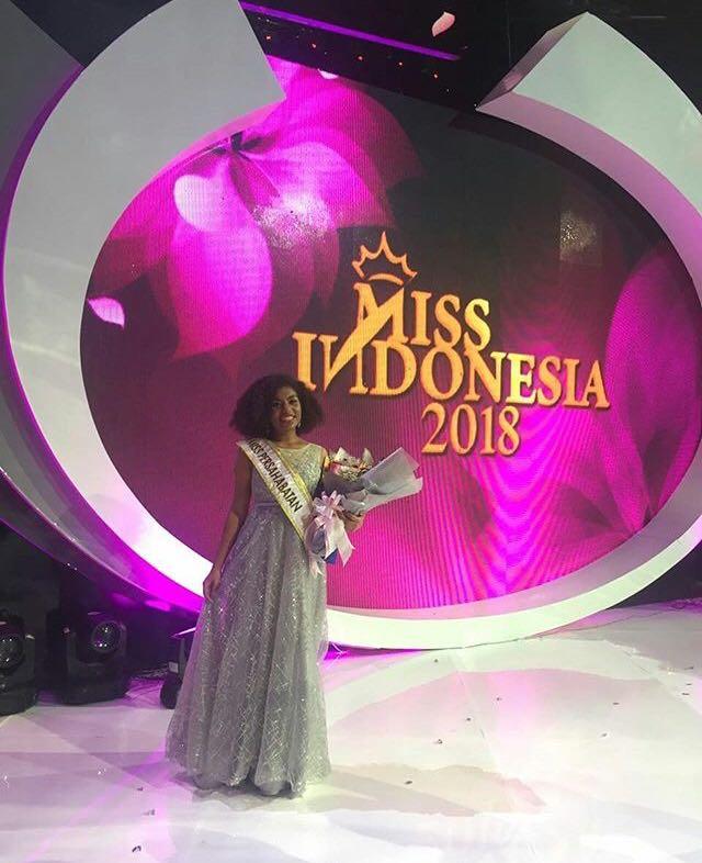 Ludia Amaye Maryen, Mahasiswi UNJ asal Papua yang dinobatkan menjadi Miss Persahabatan Indonesia 2018