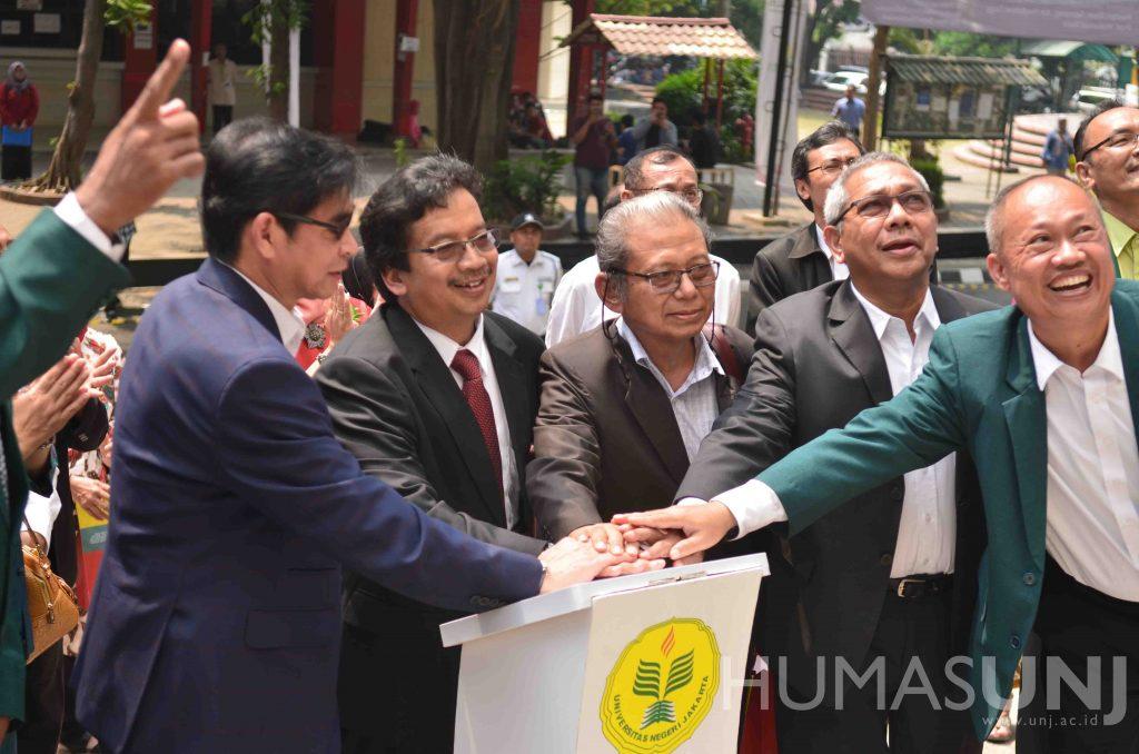 Dies Natalis UNJ ke-54: Merajut Kebersamaan, Membangun Harapan Menuju Universitas Negeri Jakarta Sebagai Kampus Unggulan
