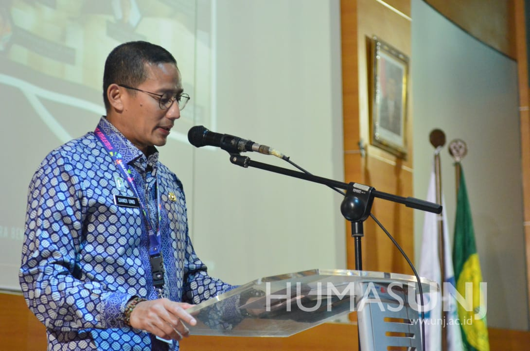 Wakil Gubernur DKI Menjadi Keynote Speaker Diskusi Publik di UNJ
