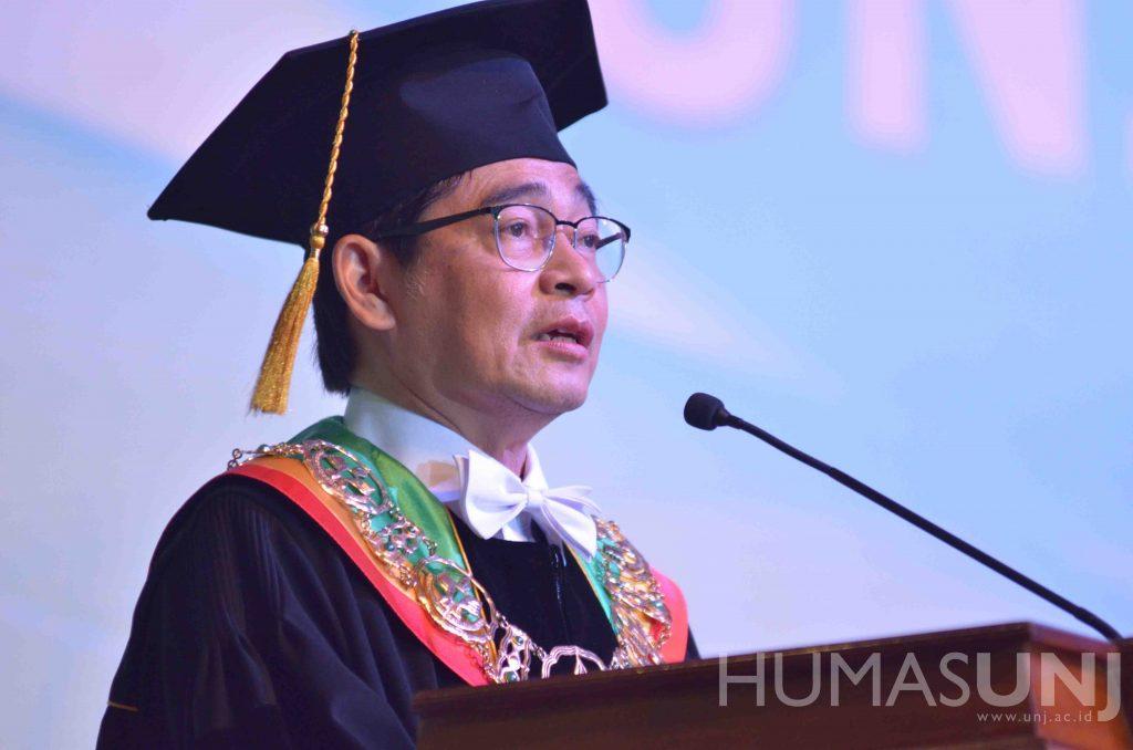 Plt. Rektor UNJ: Lulusan UNJ Harus Mampu Menjadi Entrepreneur, Job Creator, dan Bukan Job Seeker.