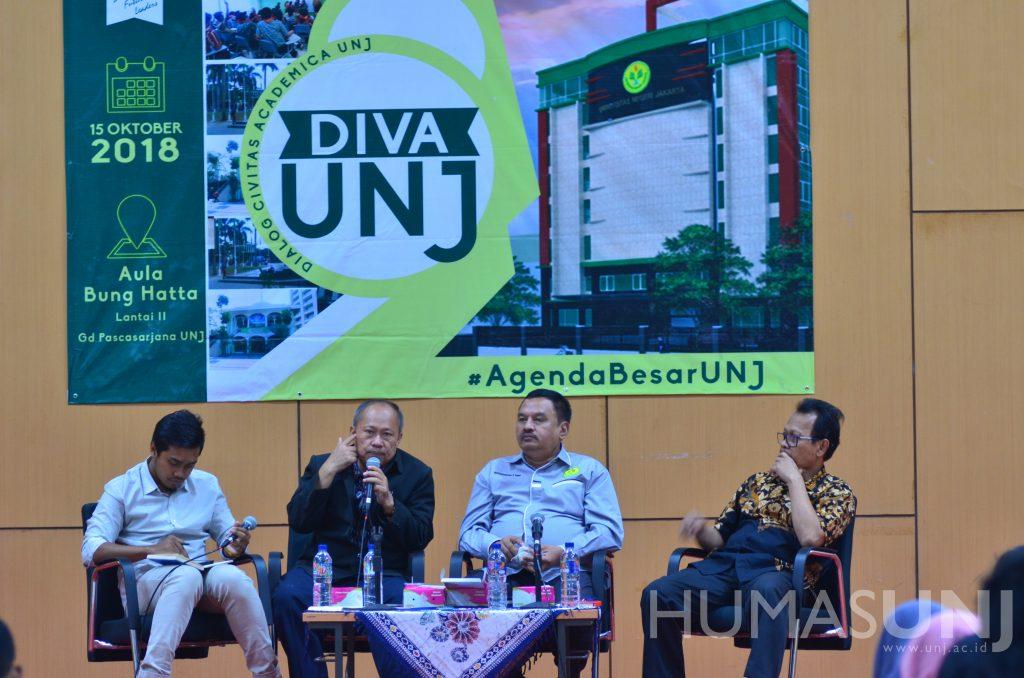 Wujudkan Kampus Terbaik, BEM dan MTM Universitas Gelar DIVA UNJ
