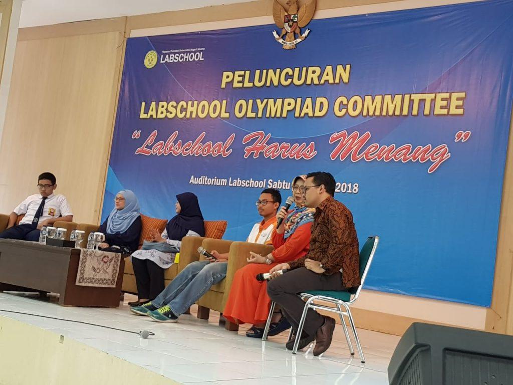 Labschool UNJ Meluncurkan Komite Olimpiade dan Terobosan Lain