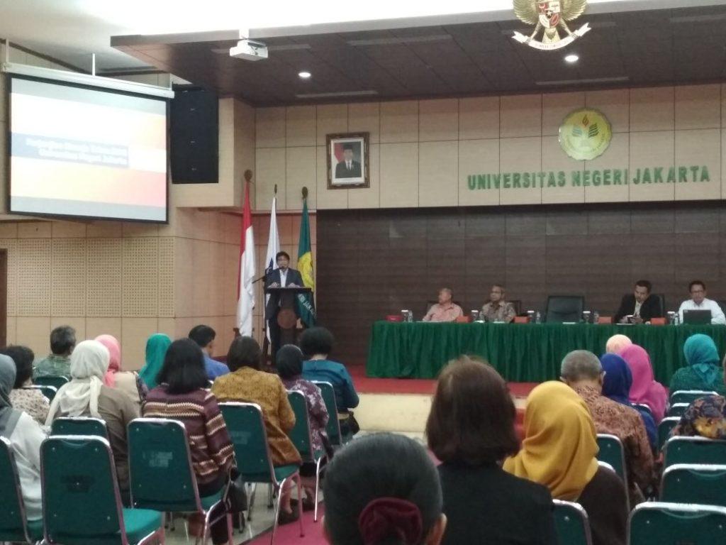 Silaturahmi Plt. Rektor dan Pimpinan dengan Para Dosen di Lingkungan UNJ