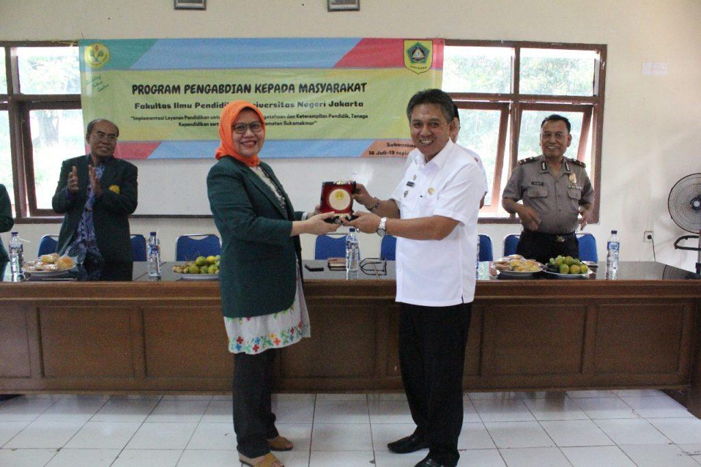 Program Pengabdian Pada Masyarakat (P2M) Fakultas Ilmu Pendidikan UNJ di Kecamatan Sukamakmur Kabupaten Bogor