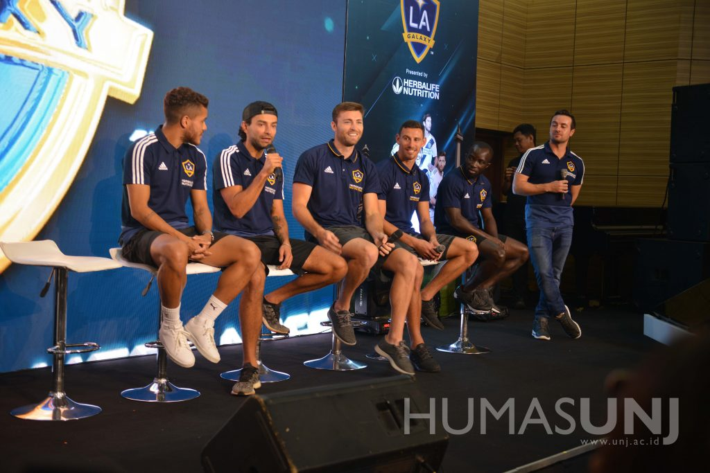 Faculty of Sport Sciences with LA Galaxy and Herbalife Nutrition's Sport Seminar
