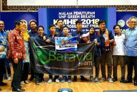Batavia Team UNJ Meraih Gelar Juara Pada KMHE 2018