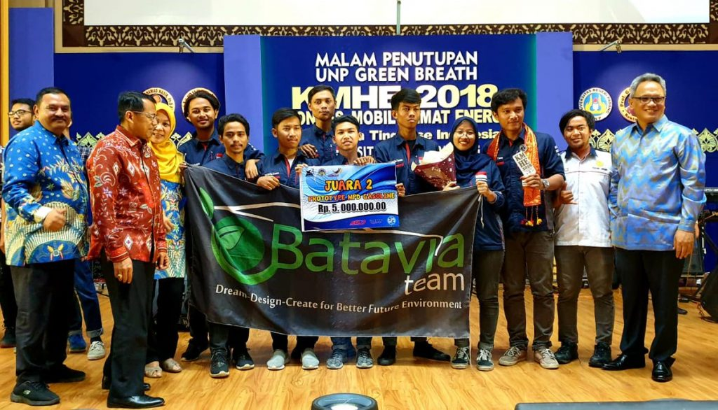 Batavia Team UNJ Won KMHE 2018