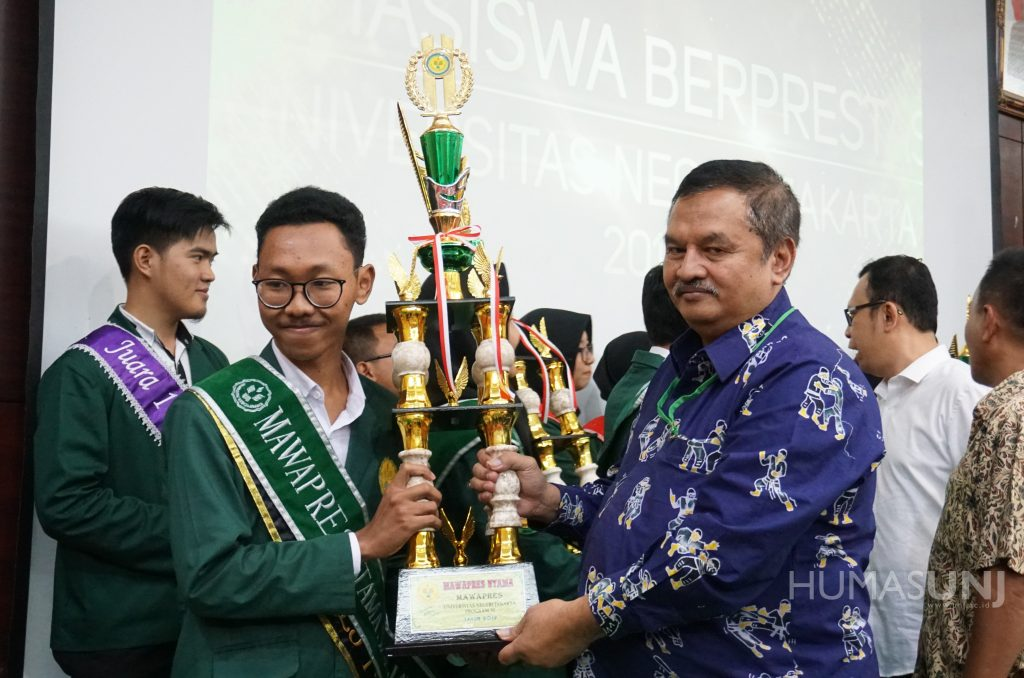 The High-Achieving Students (Mawapres) of UNJ was Held Again
