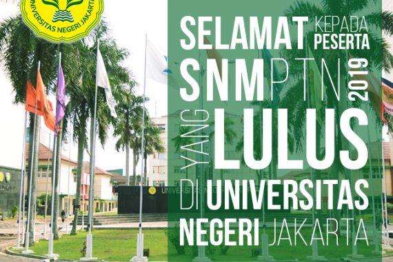 (Bahasa) Masuk 20 Besar PTN dengan Pendaftar Terbanyak, UNJ juga Masuk 20 Besar Keketatan Prodi dalam SNMPTN 2019