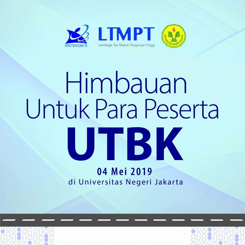 Announcement for UTBK Participants at Universitas Negeri Jakarta