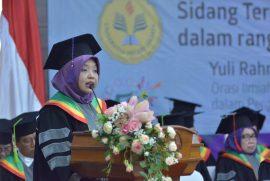 Orasi Ilmiah Yulia Rahmawati, M.Sc, Ph.D.: Konseptualisasi Framework Transformative University dalam Pengembangan Universitas Bereputasi