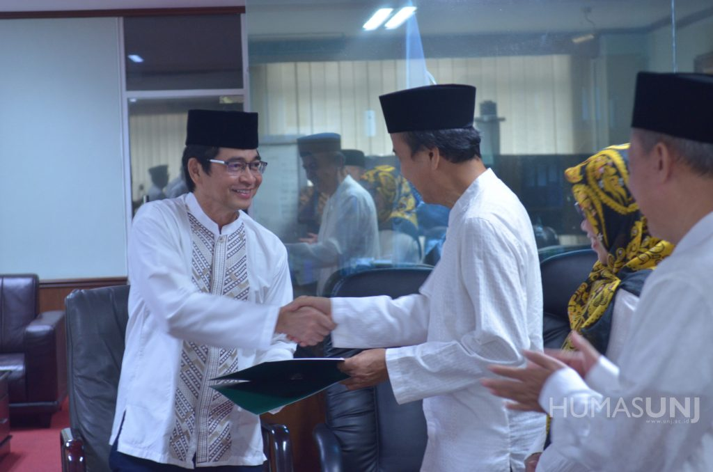 Appointment of the Chairperson, Secretary and Member of Universitas Negeri Jakarta Senate for the Period of 2019-2023