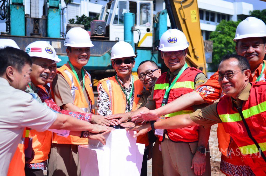 Ground Breaking Ceremony Pembangunan Gelanggang Olahraga Universitas Negeri Jakarta