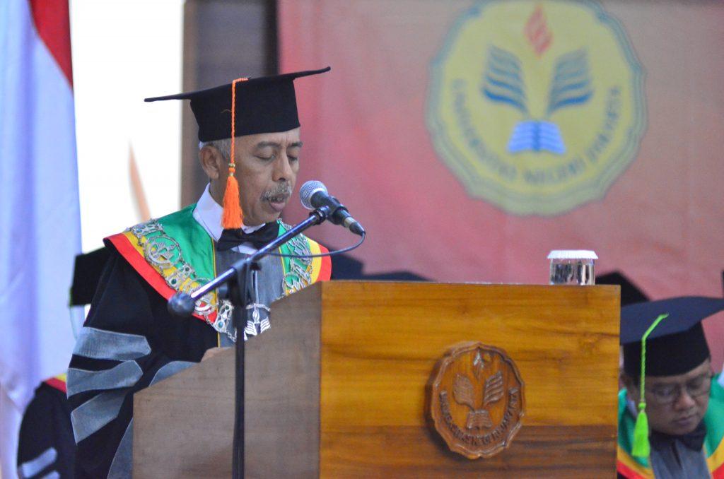 Pengukuhan Prof. Dr. Dedi Purwana E.S., M.Bus
