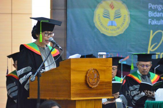 Pengukuhan Prof. Dr. Unifah Rosyidi, M.Pd