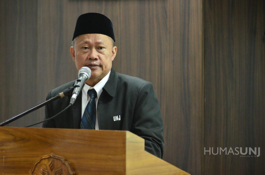 Penetapan Calon Rektor Terpilih UNJ Periode 2019 – 2023