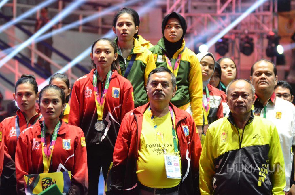 POMNAS Ke-XVI 2019 Resmi Ditutup Dengan DKI Jakarta Sebagai Juara Umum