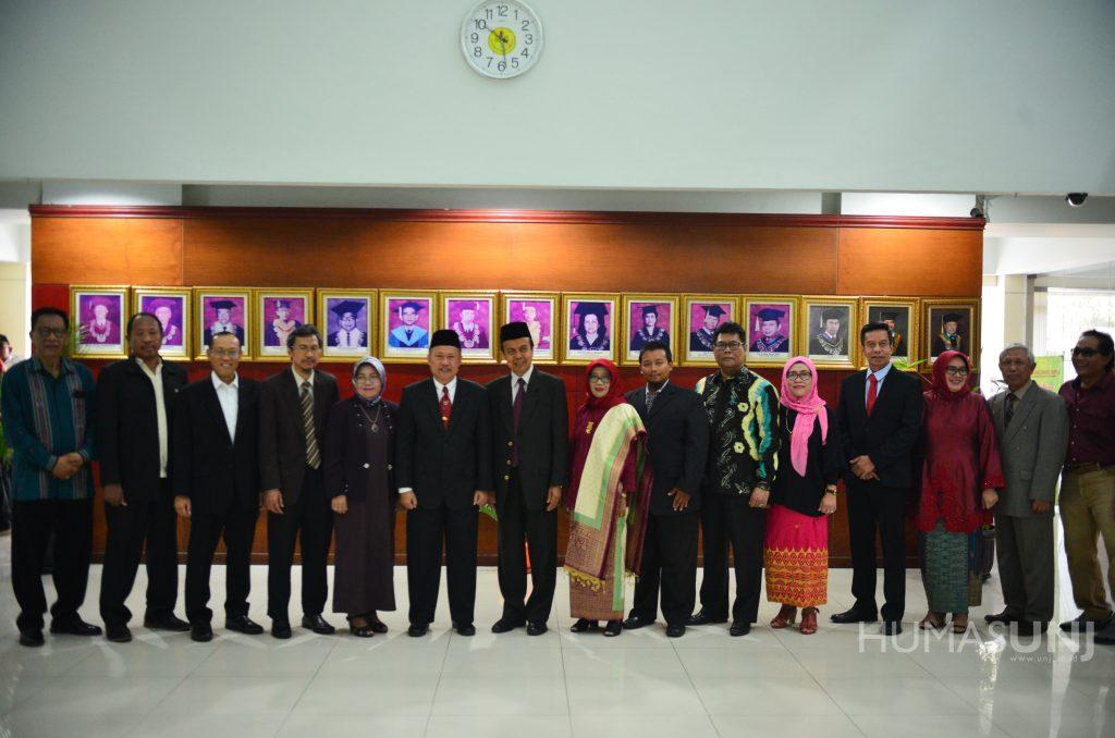 Pelantikan Dekan FT, FMIPA, FIS, dan Direktur Pascasarjana UNJ
