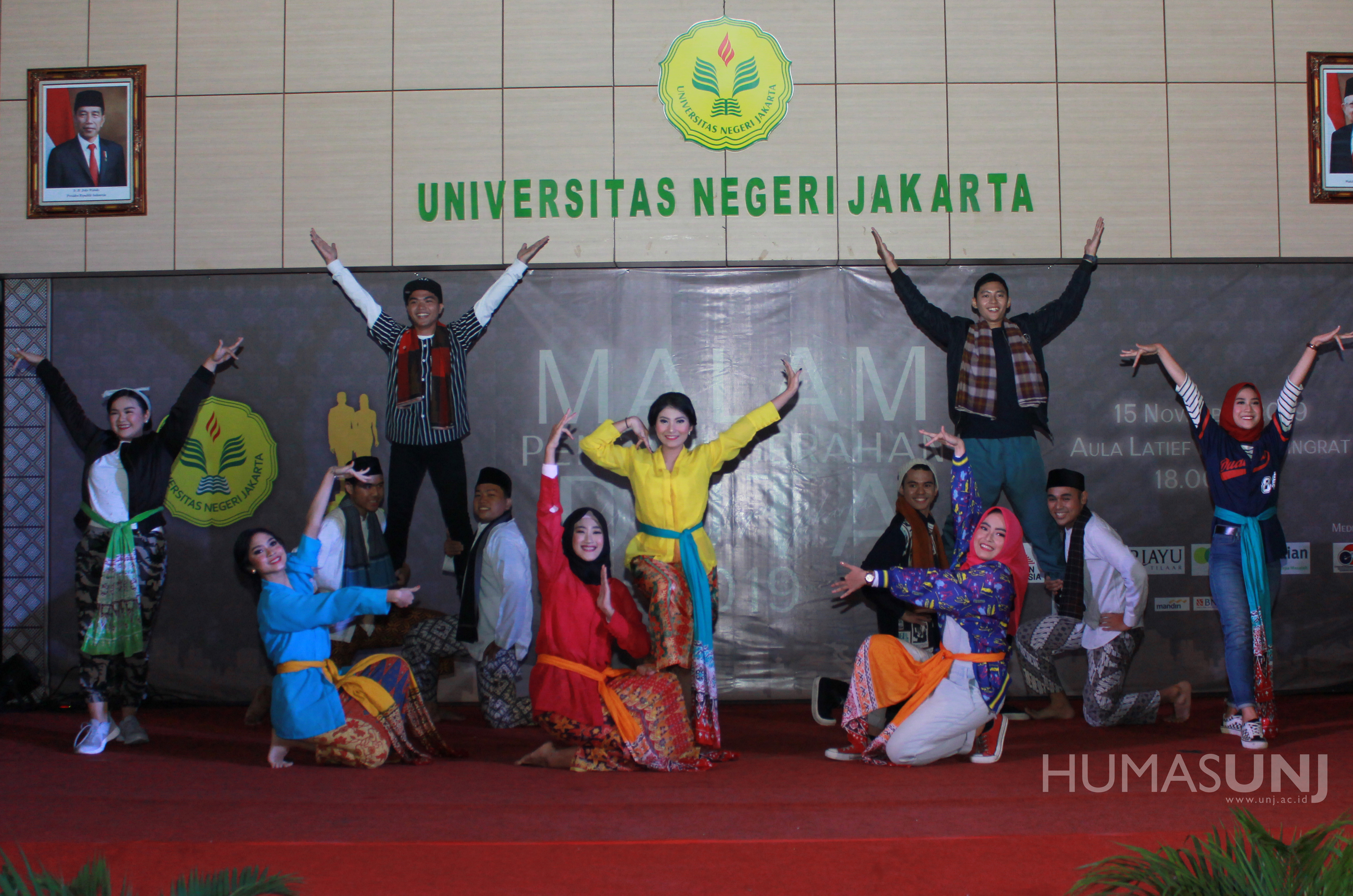 Malam Penganugerahan Duta Universitas Negeri Jakarta 2019