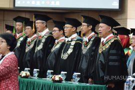 Pengukuhan Guru Besar Tetap UNJ: Prof. Dr. M. Japar, M.Si dan Prof. Dr. Eliana Sari