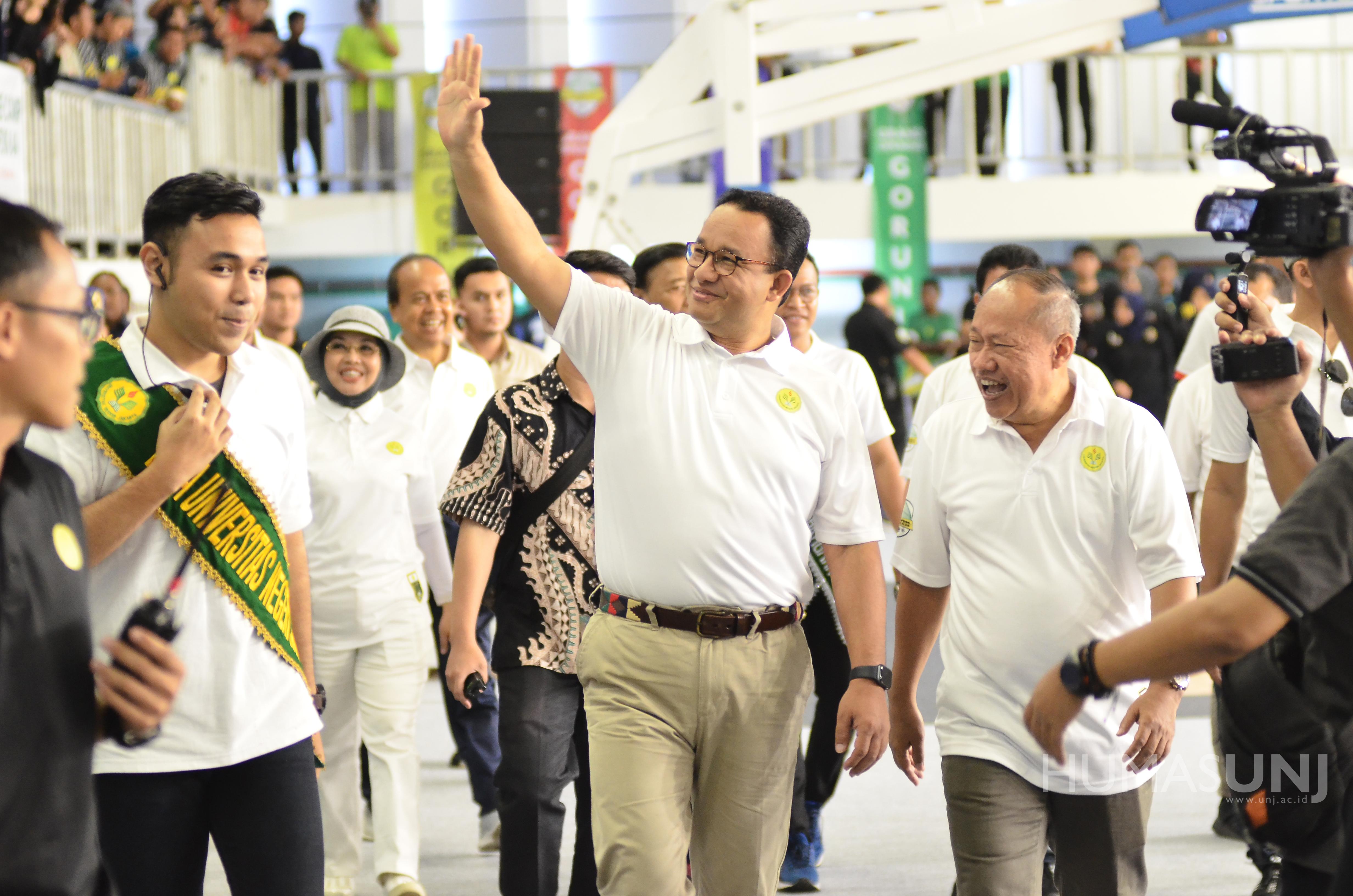 GOR UNJ Diresmikan, Anies Berharap dapat Menjadi Tempat Pembinaan Atlet DKI Jakarta maupun Nasional
