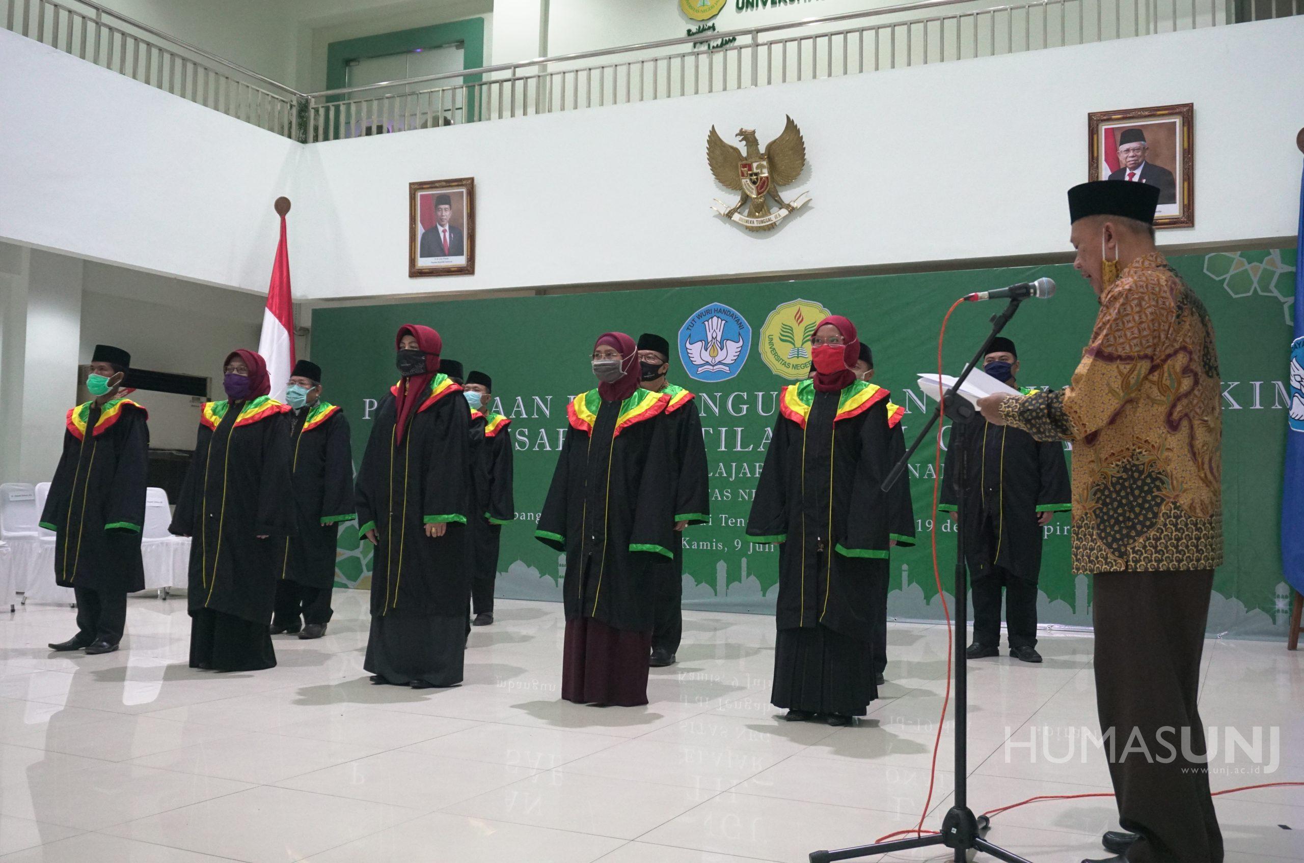 Pembukaan dan Pengukuhan Dewan Hakim Musabaqoh Tilawatil Qur'an (MTQ) Tingkat Pelajar SMA Nasional Universitas Negeri Jakarta