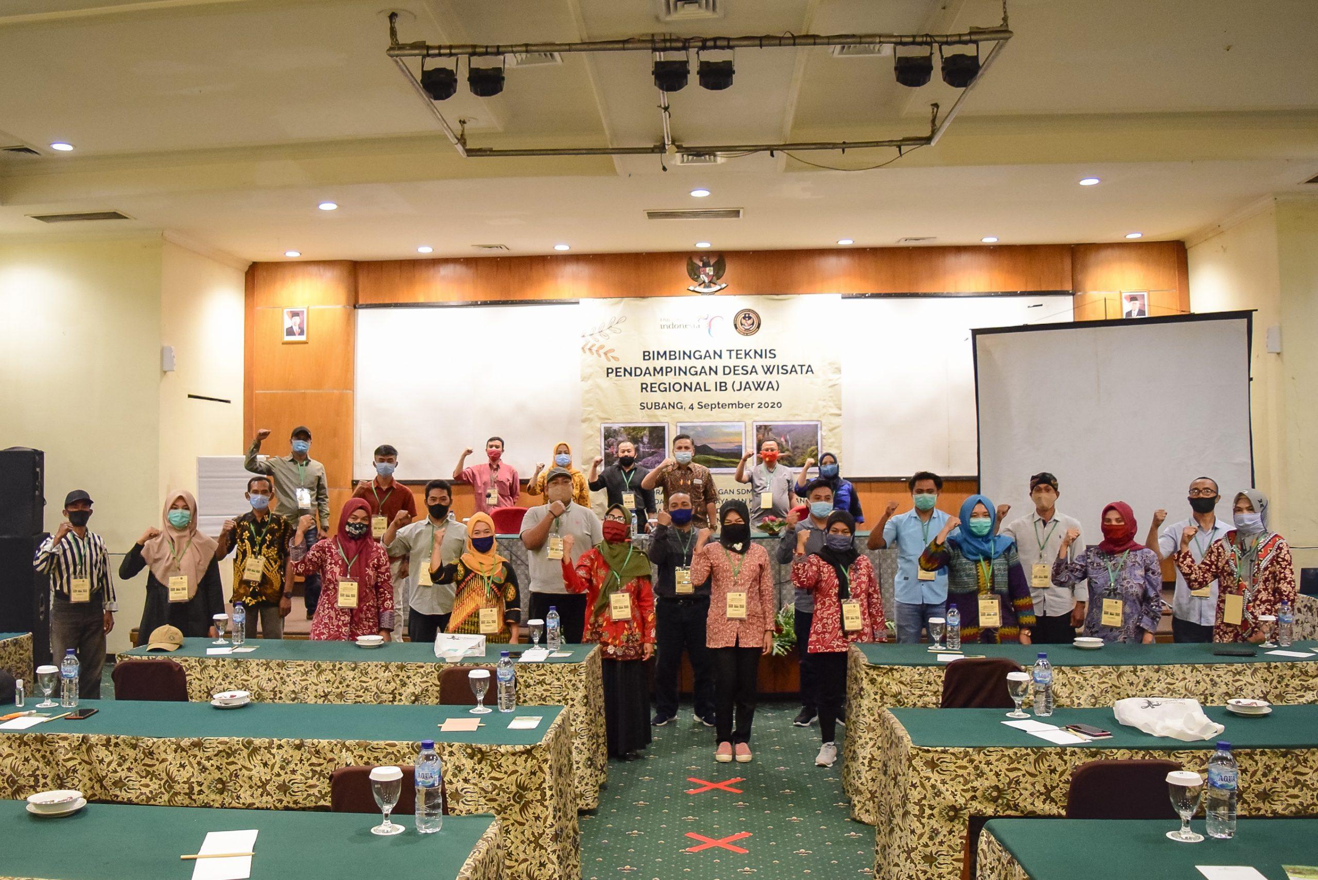 Bimbingan Teknis Pendampingan Desa Wisata Regional IB (Jawa)