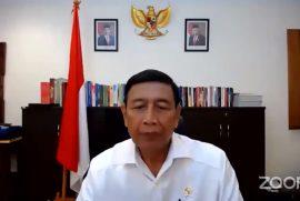 Kuliah Umum Wiranto di PKKMB Digital UNJ 2020