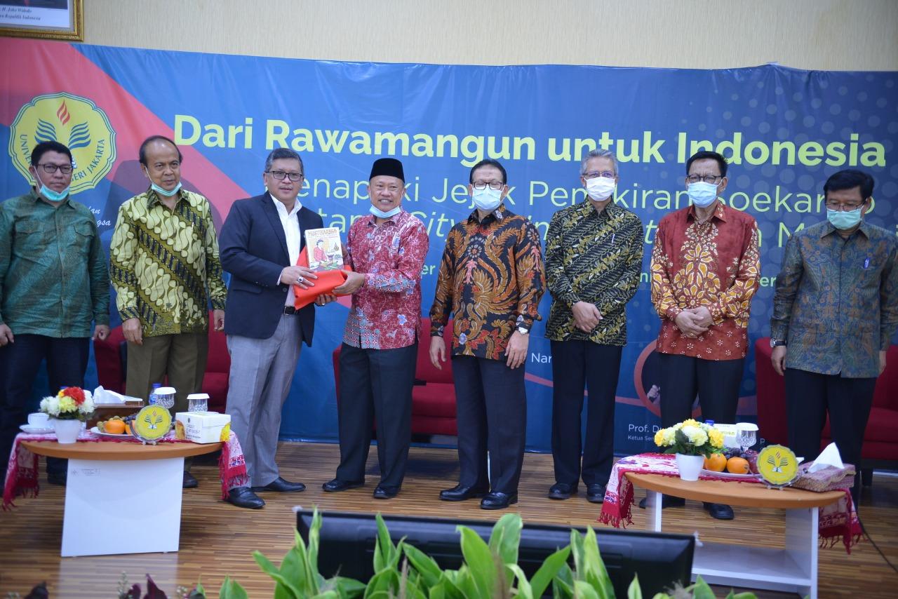 Dari Rawamangun untuk Indonesia : Menapaki Jejak Pemikiran Soekarno tentang City of Intellect (Kota Mahasiswa)