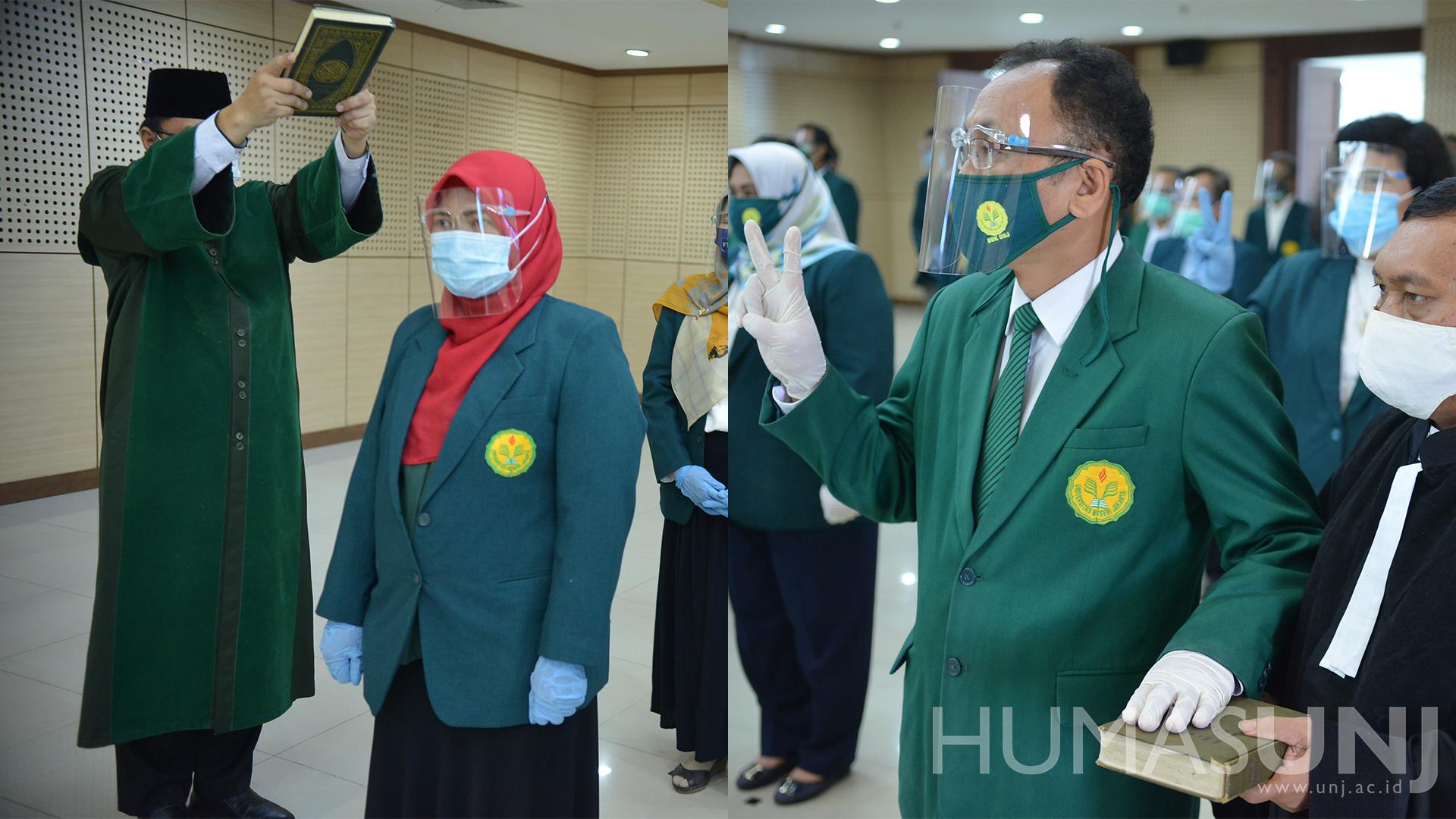 Pelantikan Pejabat dan Jabatan Fungsional di Lingkungan UNJ