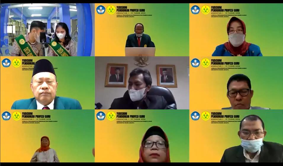 (Bahasa) Yudisium Program Pendidikan Profesi Guru (PPG) Dalam Jabatan Universitas Negeri Jakarta Angkatan I-IV Tahun 2020