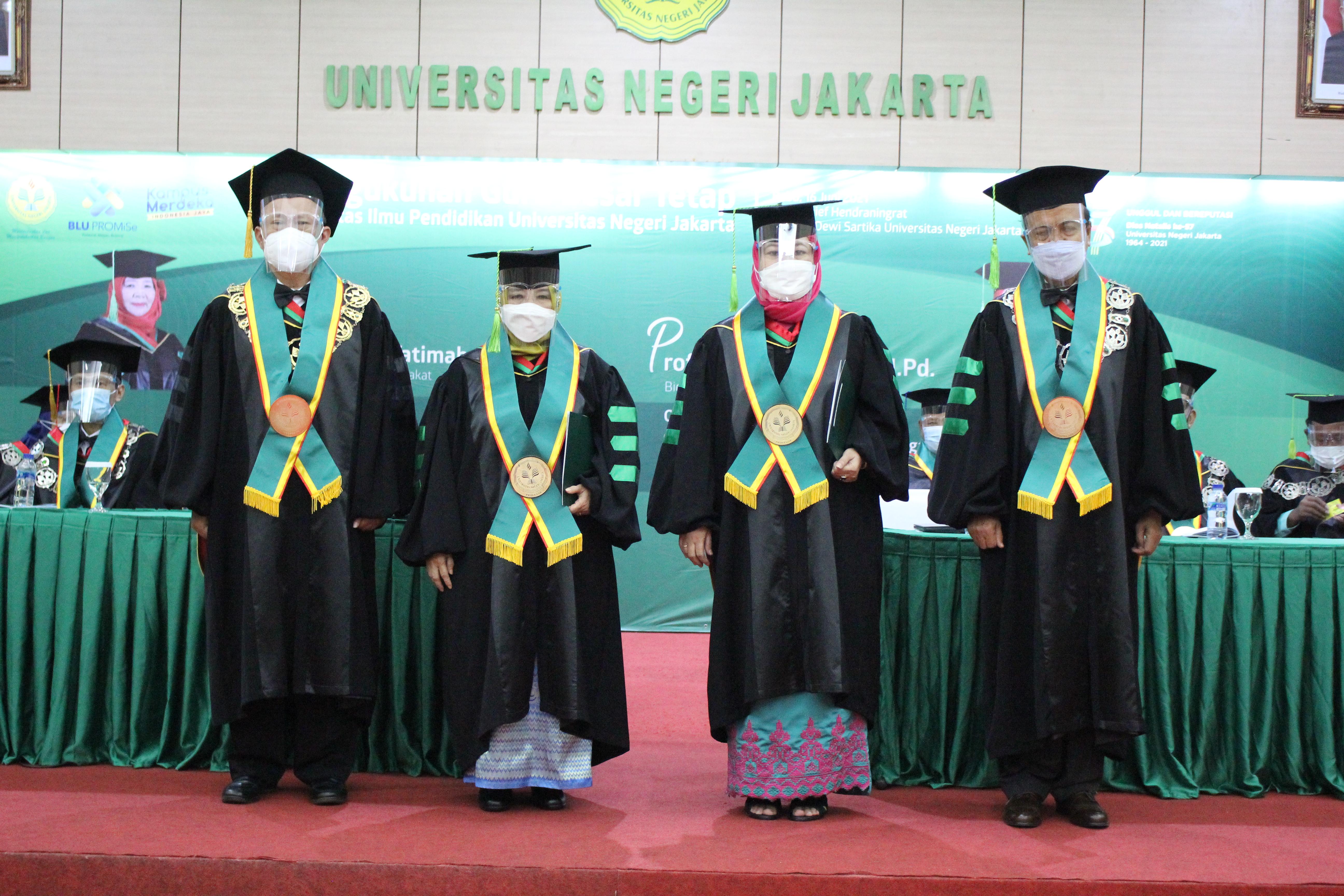 Fakultas Ilmu Pendidikan (FIP) UNJ tambah 5 Guru Besar