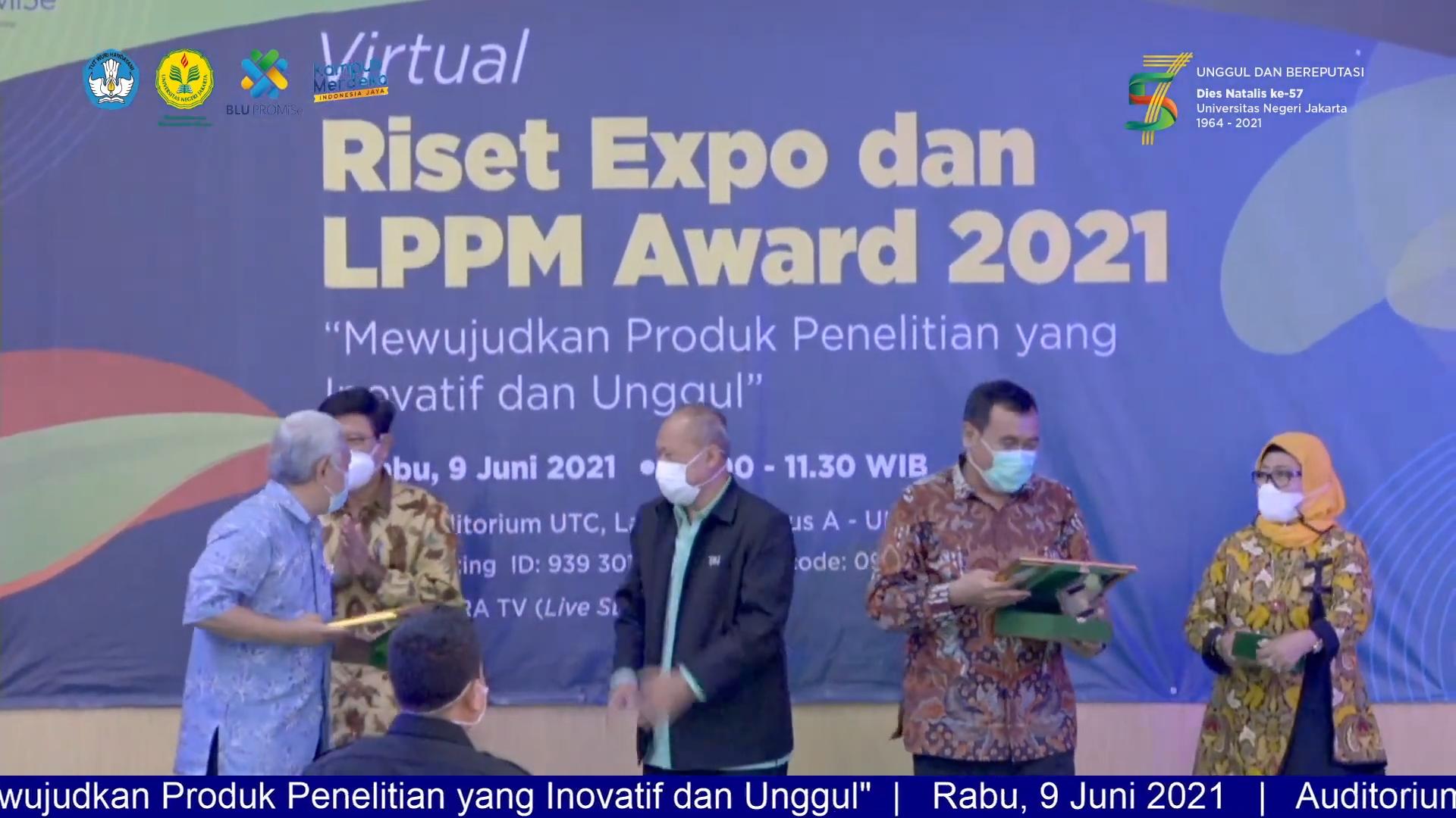 (Bahasa) Daftar pemenang LPPM Award 2021, Pesan Prof. Ucu: penelitian tidak berhenti dalam bentuk Jurnal tetapi betul dimanfaatkan untuk bangsa maupun negara