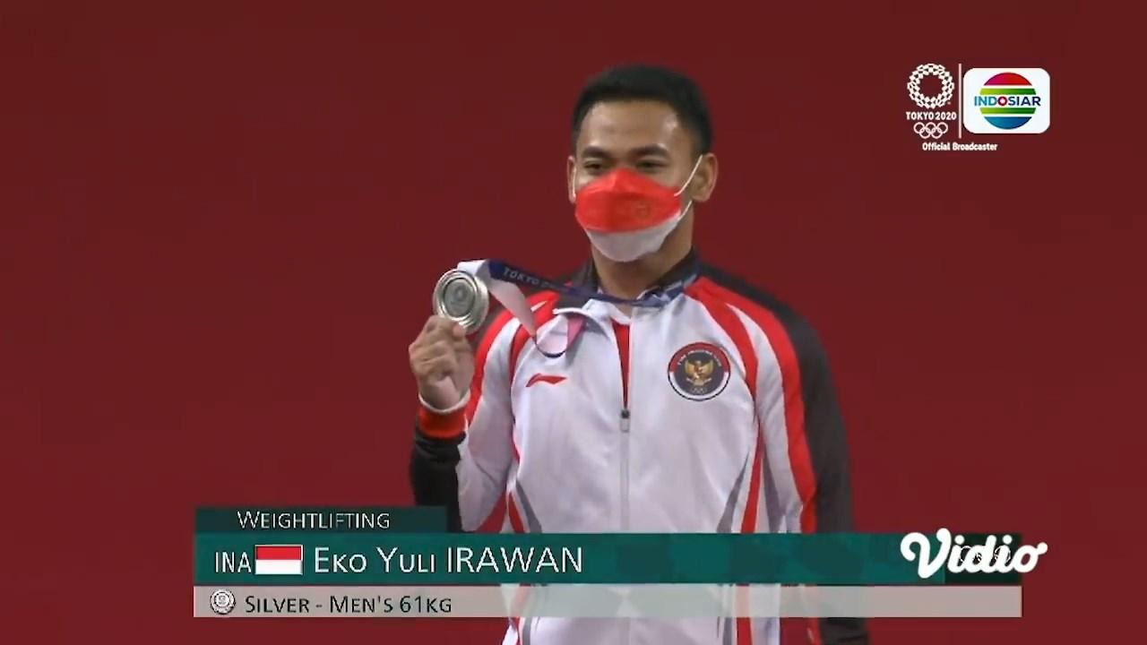 Mahasiswa Keolahragaan UNJ, Eko Yuli Irawan, Raih Medali Perak di Olimpiade Tokyo 2020