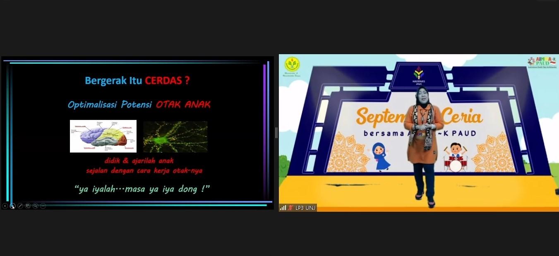 """Seminar PGPAUD UNJ bersama AIMMA-K PAUD : """"Bergerak Itu Cerdas"""""""